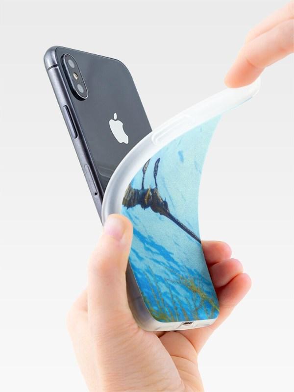 iPhone Soft Cover Case Weedy Seadragon