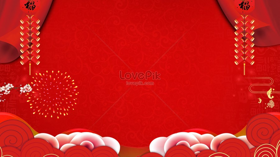 Red festival chinese new year background photo image picture free     Red festival Chinese New Year background