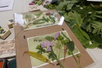 'Postcards from the Park' workshop