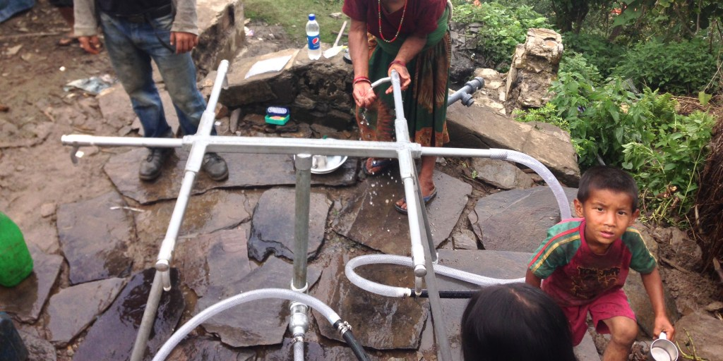 Tapstands in Keura | Nepal Earthquake