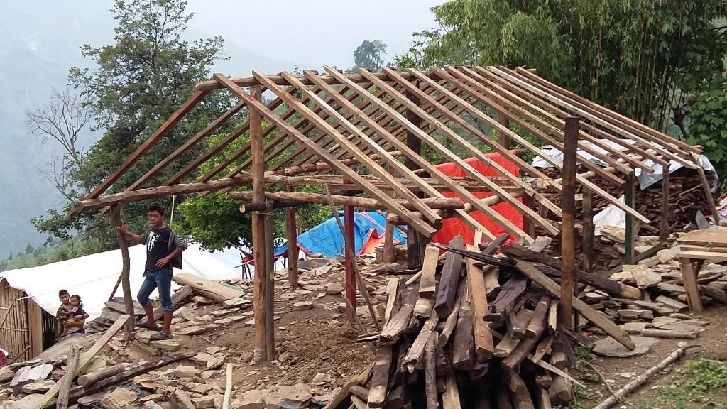 Rebuilding homes in Keura | Nepal Earthquake