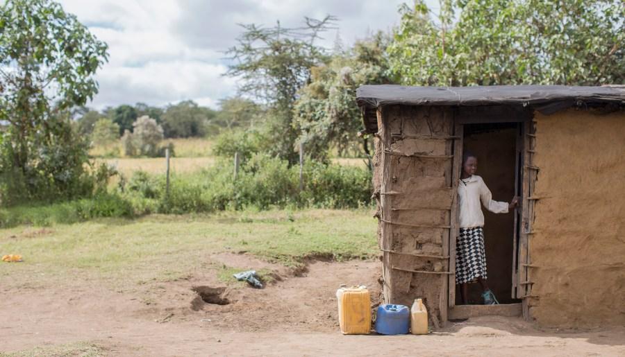 Young girl in Enariboo, Kenya