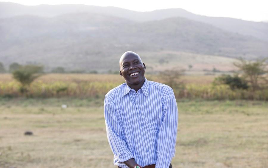 James Nampushi, Maasai warrior and friend of Water Mission