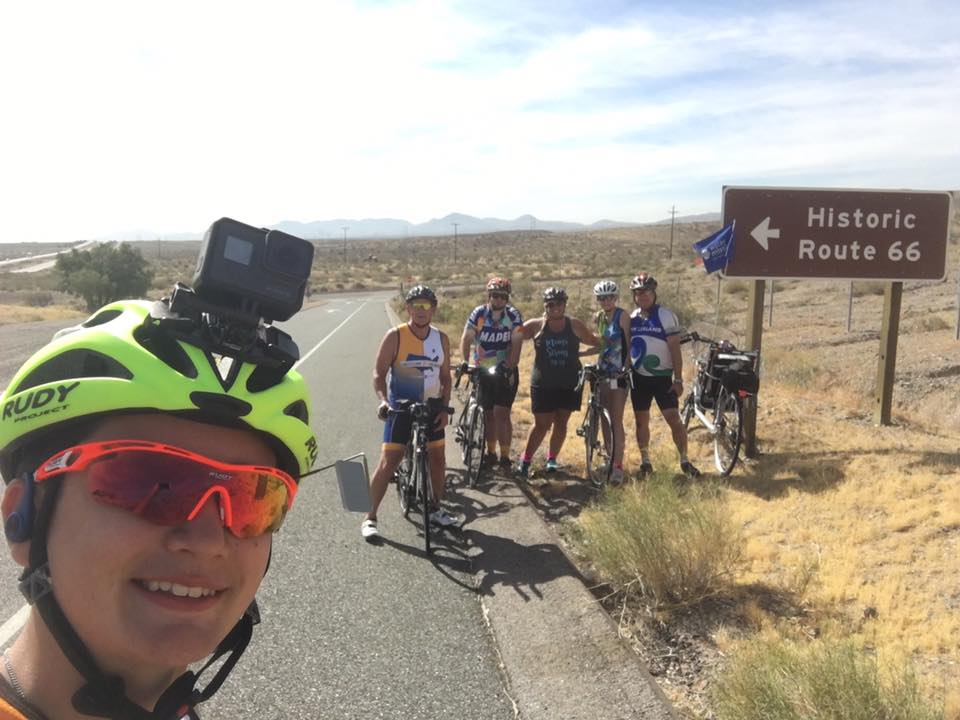 The Scotty's Ride team on Route 66.