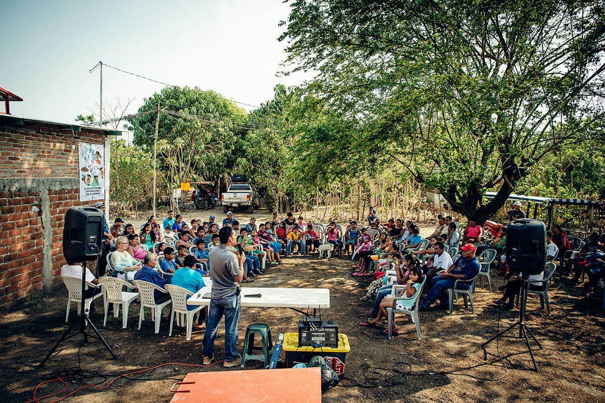 Community engagement in Mexico