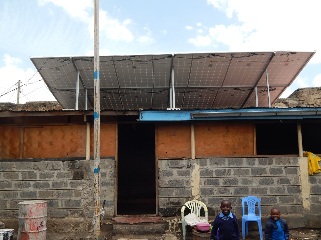 This sustainable safe water system is solar-powered!