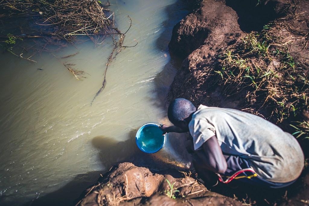 Dirty water in Tanzania