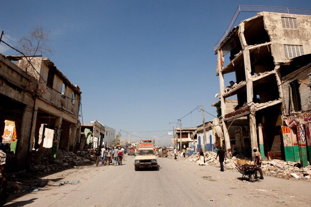 Ruins in Port-au-Prince