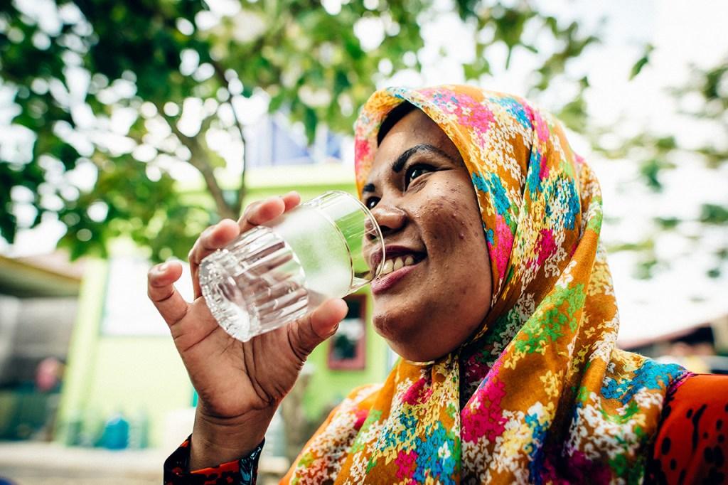 Hayani drinking safe water