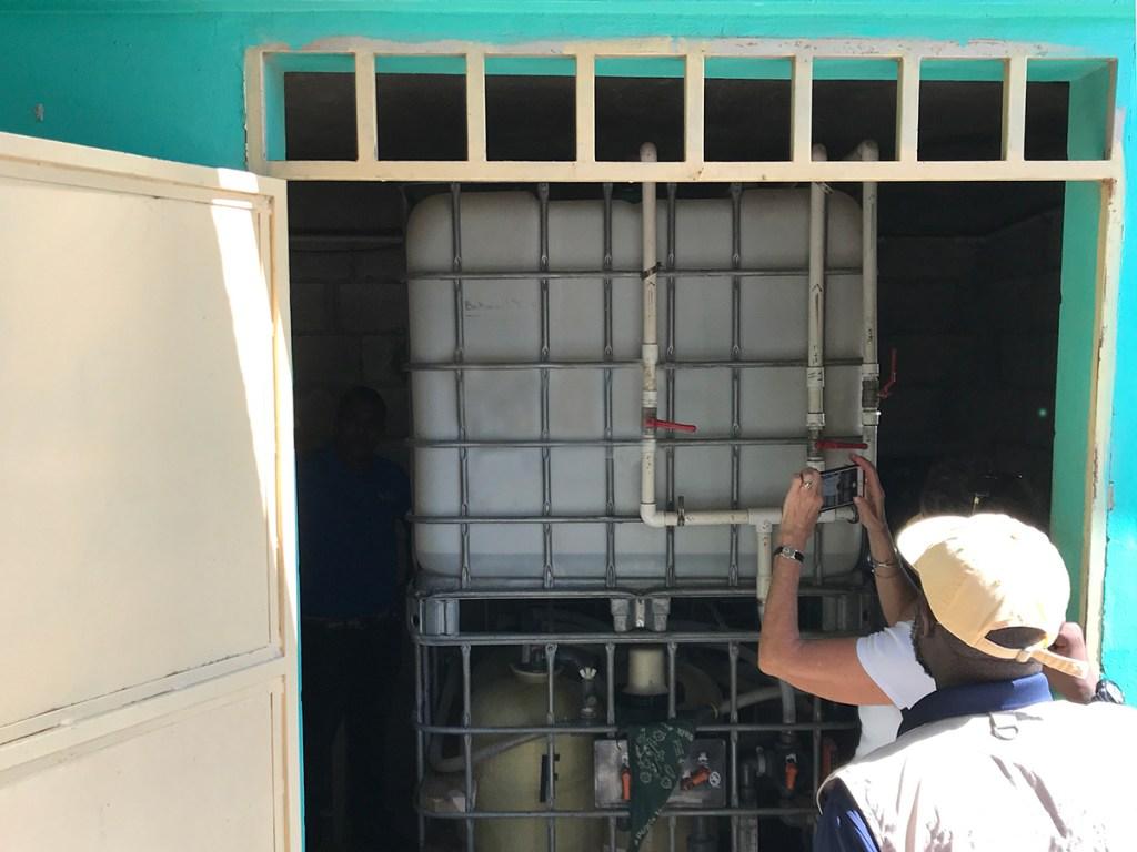 Living Water Treatment System in Lafiteau, Haiti