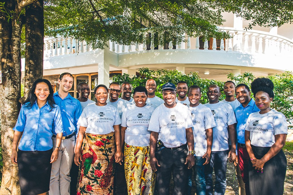 Water Mission's team in Dar es Salaam, Tanzania