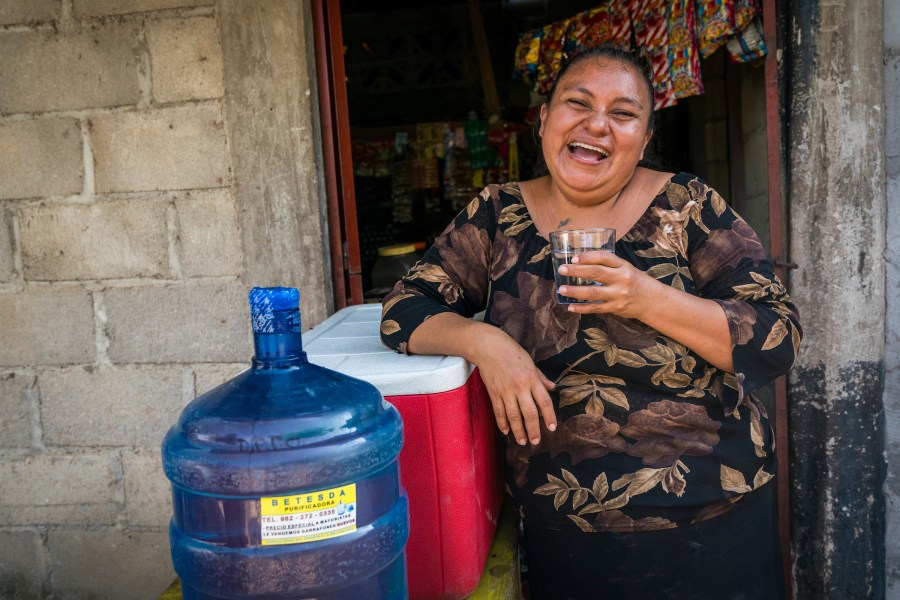 mexico, water, safe water, happy, joy, woman, water access, sanitation