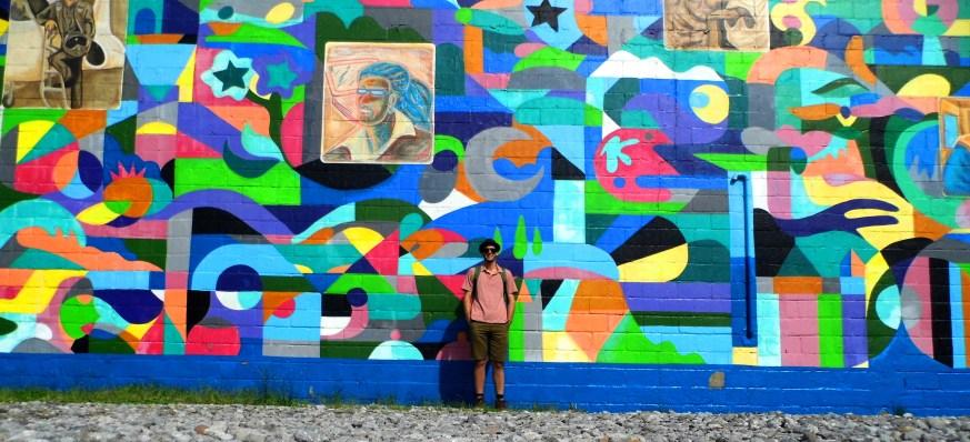 MLK Mural Myself