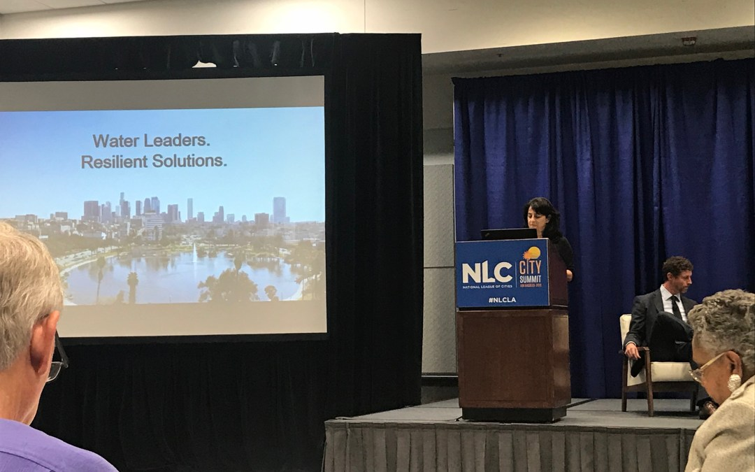 Report Back: WaterNow Attends the 2018 National League of Cities City Summit