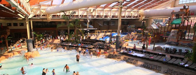 Hotels in Pigeon Forge with Indoor Water Park