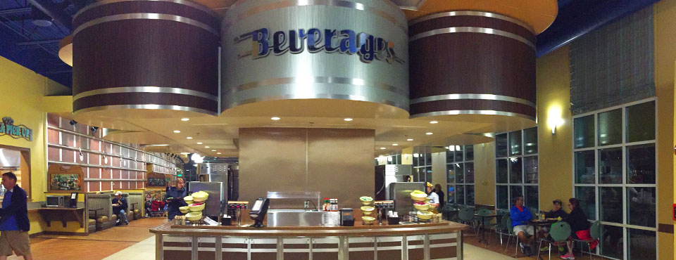 The Beverage Station at the Food Court located at the Disney All Star Music Resort 960