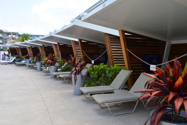 Cabana Bay Beach Resort Cabana Rental Pictures
