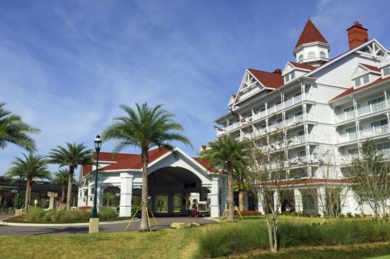 Disney World Grand Floridian Vacation Club Villas Entrance