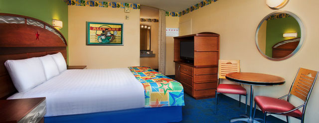 Room at the Disney All Star Sports Resort with comfortable bedding 640 wide