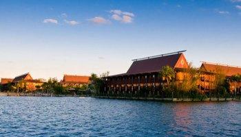 Disney Polynesian Resort Location - Map - Near Magic Kingdom