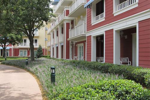 View of the Boardwalk Inn Villas