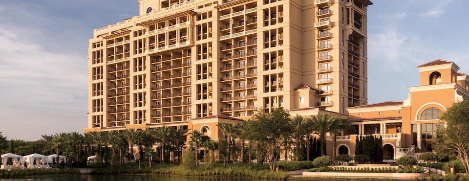 View of the Four Seasons in Orlando from the lake 960