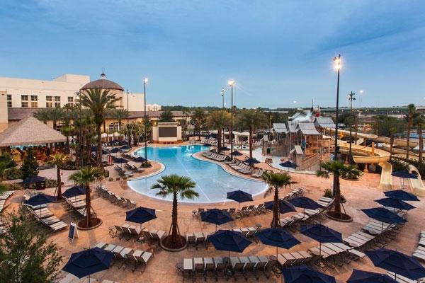 Gaylord Palms Resort Pool Water Park Slides Kids Zone