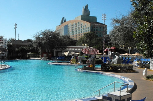 Walt Disney World Dolphin Resort Pool Area