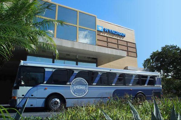 Disney Springs Resort area Shuttle at Wyndham Garden Lake Buena Vista 600