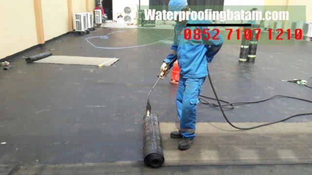 jasa waterproofing membran bakar waterproofing di  pulau Buluh ,kota Batam - telepon : 085 2 71 071 210