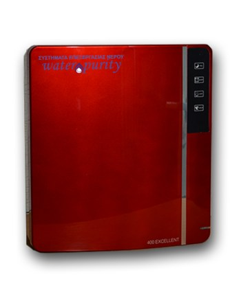 WP-RO LUX STYLE 400 RED-waterpurity