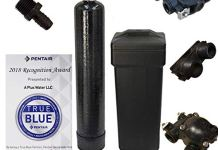 DuraWater Mechanical Fleck 5600 Metered Water Softener With USA Tanks Ships Loaded (64,000 Grains, 8% Resin)