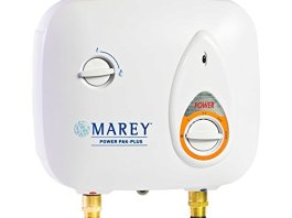 Marey Power Pak Plus Tankless Electric Water Heater, 220 VOLT