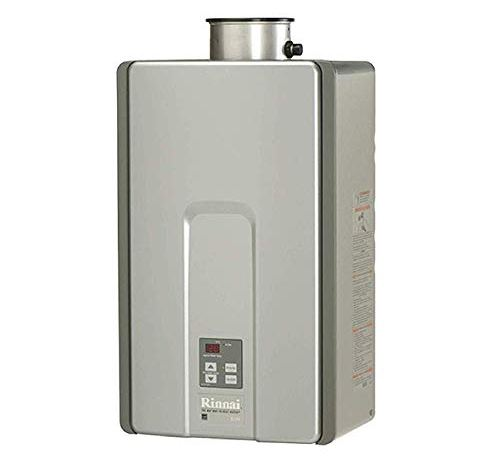 Rinnai RL Series HE+ Tankless Hot Water Heater | RL94eN - Natural Gas | Outdoor Installation