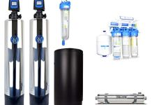 WECO COMP-1252 Complete Whole House City Water Treatment System with Water Softener, Conditioner, UV Disinfection System & Drinking Water RO System (COMP-1252)