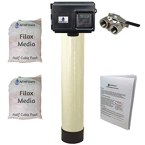 Filox 10 Iron, Sulfur, & Manganese Removal Water Filter with Fleck DIGITAL 2510SXT