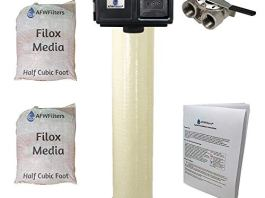 Filox 10 Iron, Sulfur, & Manganese Removal Water Filter with Fleck DIGITAL 2510SXT - 1.0 cu. ft.