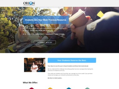 Orion Student Insurance