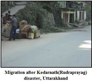Migration after Kedarnath(Rudraprayag) disaster, Uttarakhand