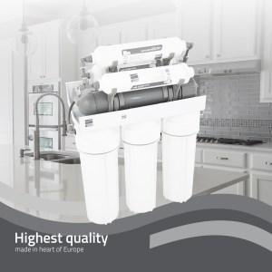 NEO7 Platinum Wasser – седем степенна система за пречистване на вода с обратна осмоза