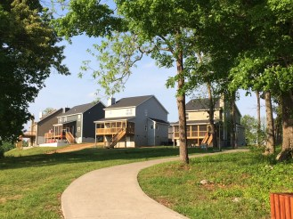 Phase II from walkway to Boat Dock