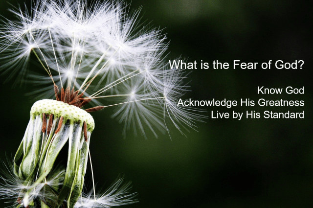 What is the Fear of God?