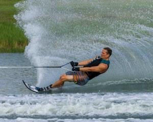 Jodi Hooten skiing