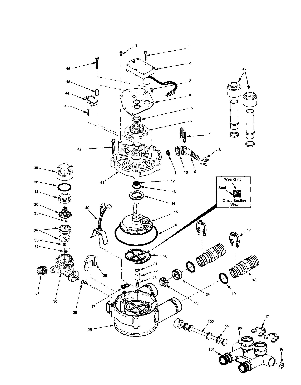 O Ring Venturi Cap