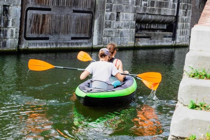 kayaking while pregnant