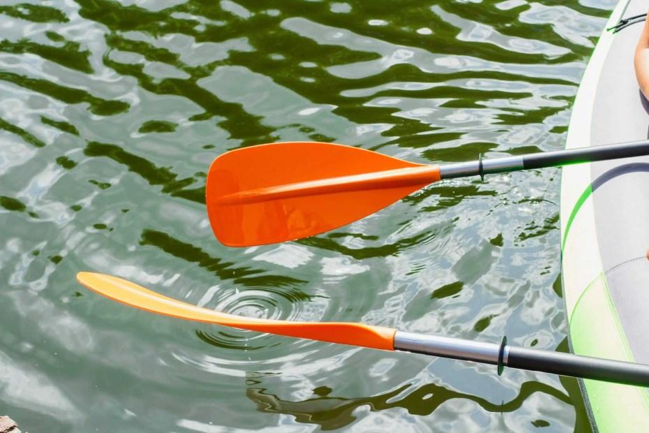 adjustable kayak paddle
