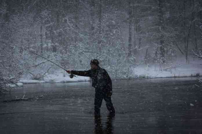Cold weather fishing tips