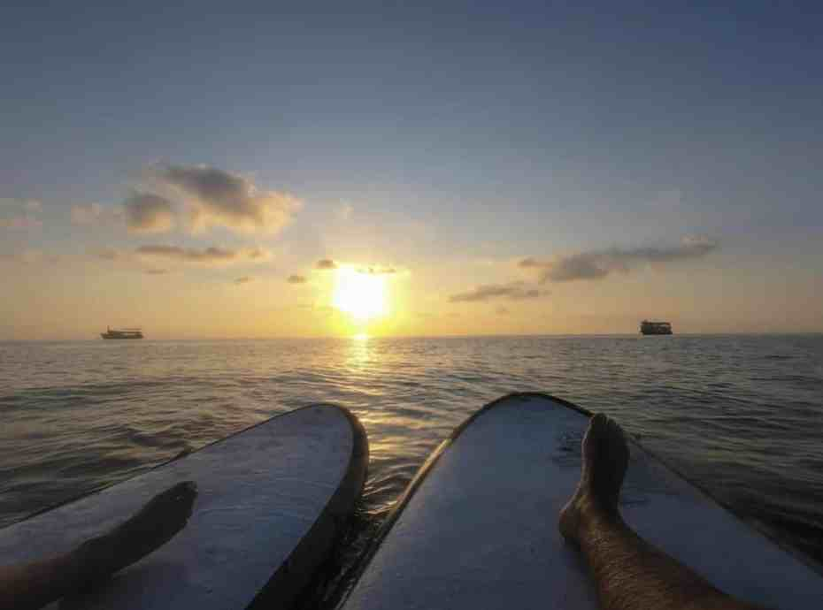 best stand up paddle board for yoga
