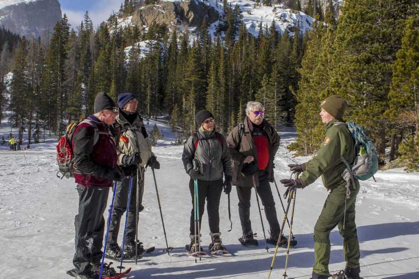 snowshoeing safety tips