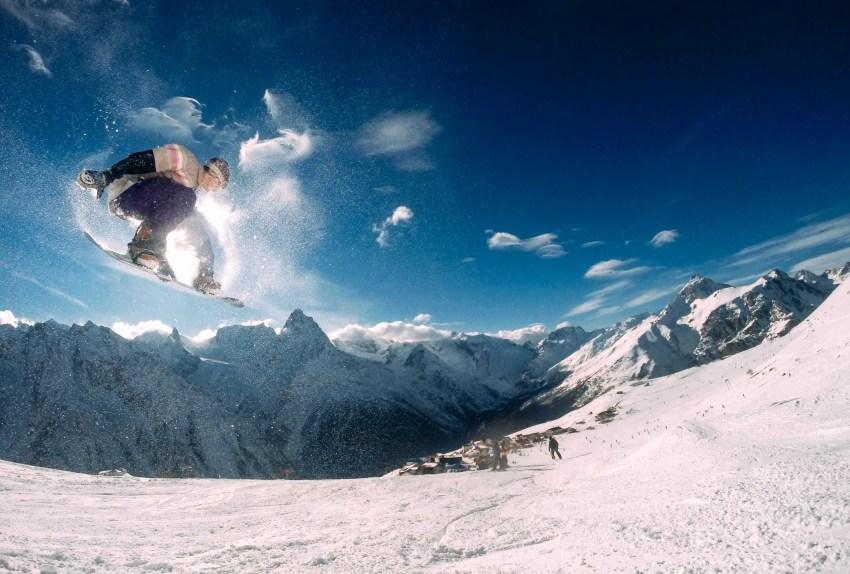 calories burned snowboarding